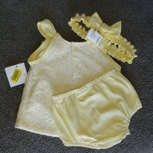 Starting Out Yellow 3pc. Set Size 9 Mos.